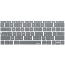 """Macally Gray Keyboard Protector for 12"""" Macbook"""