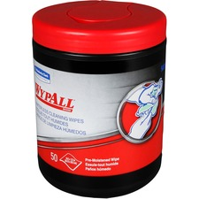 KCC58310CT - Wypall Kimberly-Clark WypAll Waterless Hand Wipes