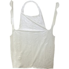 "PGD 8706 ProGuard Disposable 42"" Poly Apron PGD8706"
