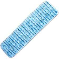 "Impact Products Microfiber Flat Wet Mop - 5"" Width x 18"" Length - MicroFiber, Polypropylene"