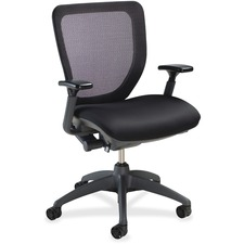 LLR25983 - Lorell Mesh-back Task Chair with Synchro Knee Tilt
