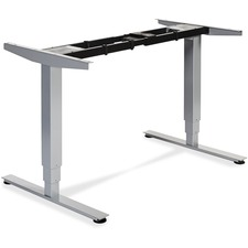 LLR 25993 Lorell Height Adj. Sit-Stand Wkstation Desk Frame LLR25993