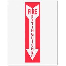 TFI P1949FE Tarifold Fire Extinguisher Magneto Sign Insert TFIP1949FE