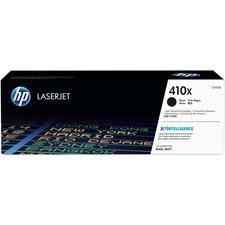 HP 410X (CF410X) Original Toner Cartridge - Single Pack - Laser - High Yield - 6500 Pages - Black - 1 Each
