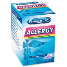 ACM 90036 Acme PhysiciansCare Allergy Relief Tablets ACM90036