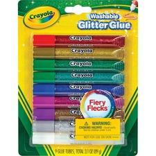 CYO 693527 Crayola Washable Glitter Glue CYO693527