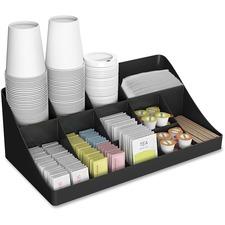 EMS COMORGBLK EMS Mind Coffee Condiment Organizer EMSCOMORGBLK