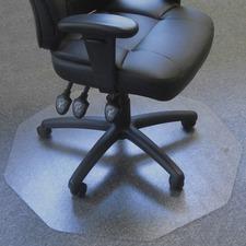 FLR 111001009R Floortex Ultimat 9 Medium-pile Carpet Chair Mat FLR111001009R