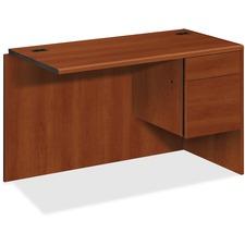 HON 10715RCO HON 10700 Series Cognac Laminate Desking HON10715RCO