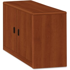 HON 107291CO HON 10700 Srs Cognac Laminate 2-dr Storage Cabinet HON107291CO