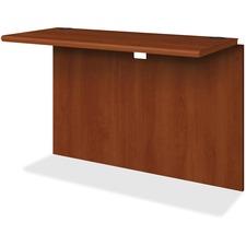 HON 107398CO HON 10700 Series Cognac Laminate Wood Desking HON107398CO