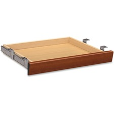 HON 1522CO HON Cognac Laminate Angled Center Drawer HON1522CO
