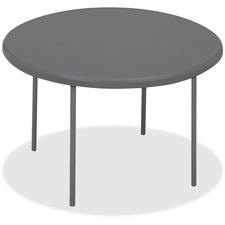 ICE 65267 Iceberg IndestrucTable TOO Round Folding Tables ICE65267