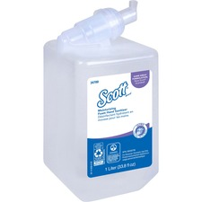 KCC 34700 Kimberly-Clark Scott Control Foam Hand Sanitizer KCC34700