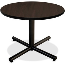LLR62580 - Lorell Hospitality Espresso Laminate Round Tabletop