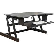 LLR 81974 Lorell Large Worksurface Adjustable Desk Riser LLR81974