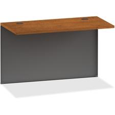 LLR 97126 Lorell 97000 Cherry/Charcoal Modular Desking LLR97126
