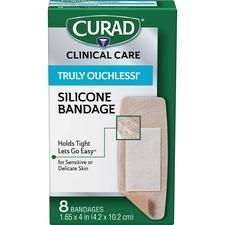 MII CUR5003 Medline Curad Truly Ouchless XL Fabric Bandage MIICUR5003