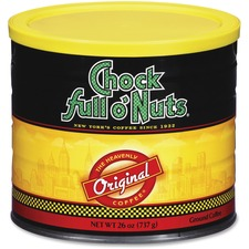 OFX 10044 Office Snax Chock Full O'Nuts Original Coffee OFX10044