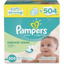 PGC 28253 Procter & Gamble Pampers Natrl Clean Wipes Refill PGC28253
