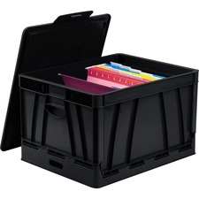 Storex Collapsible Storage Crate