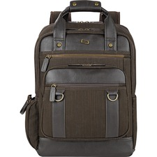 USL EXE7353 US Luggage Solo Bradford Brown Backpack USLEXE7353