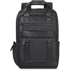 USL EXE7354 US Luggage Solo Bradford Black Backpack USLEXE7354