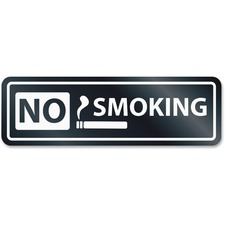 USS 9432 U.S. Stamp & Sign No Smoking Window Sign USS9432