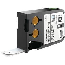 DYM 1868705 Dymo XTL Laminated Wire/Cable Wrap DYM1868705