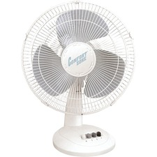 "Comfort Zone 16"" Oscillating Table Fan"