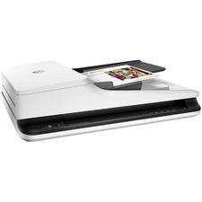 HP ScanJet Pro 2500 f1 Flatbed Scanner - 1200 dpi Optical - 24-bit Color - 8-bit Grayscale - 20 ppm (Mono) - 20 ppm (Color) - Duplex Scanning - USB