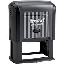 "Trodat Printy 4928 Self-inking Stamp - Message Stamp - 1.30"" (33 mm) Impression Width x 2.36"" (60 mm) Impression Length - 1 Each"