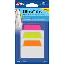AVE74753 - Avery&reg UltraTabs Repositionable Multi-Use Tabs
