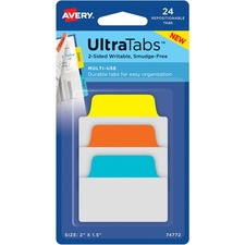 AVE 74772 Avery Ultra Repositionable Tabs AVE74772