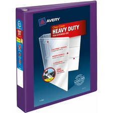AVE79774 - Avery&reg Heavy-Duty View Binders with Locking One Touch EZD Rings