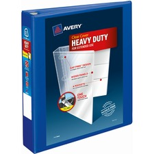 AVE79775 - Avery&reg Heavy-Duty View Binders with Locking One Touch EZD Rings
