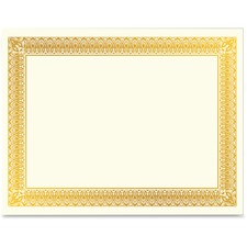 GEO 47829 Geographics Gold Foil Certificate GEO47829
