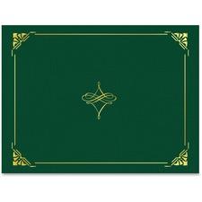 GEO 47843 Geographics Gold Foil Border Certificate Holder GEO47843
