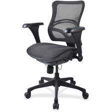 LLR20978 - Lorell Mid-back Fabric Seat Chairs