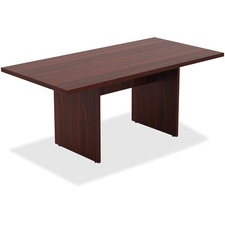 LLR34340 - Lorell Chateau Series Mahogany 6' Rectangular Table