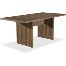 LLR34341 - Lorell Chateau Series Walnut 6' Rectangular Table