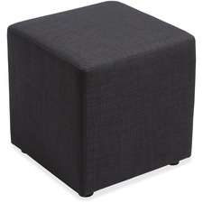 "Lorell Fabric Cube Chair - Plywood18"" (457.20 mm) x 18"" (457.20 mm) x 18"" (457.20 mm) - 1 Each"