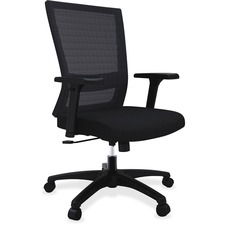 LLR54851 - Lorell Mesh Mid-back Swivel Chair