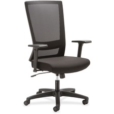 LLR54853 - Lorell Mesh High-back Swivel Chair