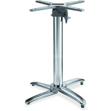 LLR 59547 Lorell Foldable Round Hospitality Table Base LLR59547