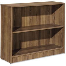 LLR 59563 Lorell Essentials Series Walnut Laminate Bookcase LLR59563
