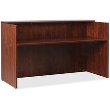 LLR59581 - Lorell Essentials Series Cherry Reception Desk