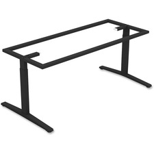 LLR59588 - Lorell Rectangular Conference T-leg Table Base