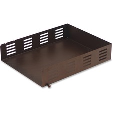 LLR84248 - Lorell Stamped Metal Front Loading Letter Tray