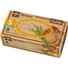 MII OAT6801 Medline Restore Nitrile Exam Gloves w/Oatmeal MIIOAT6801